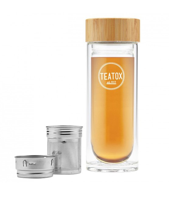 Teatox, mobile Trinkflasche