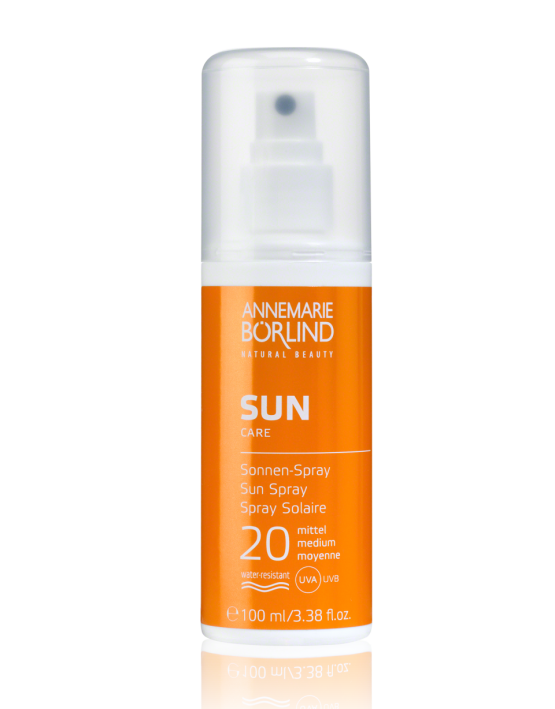 Annemarie Börlind, Linie Börlind Sun Care, Sonnen Spray, LSF 20, 100ml
