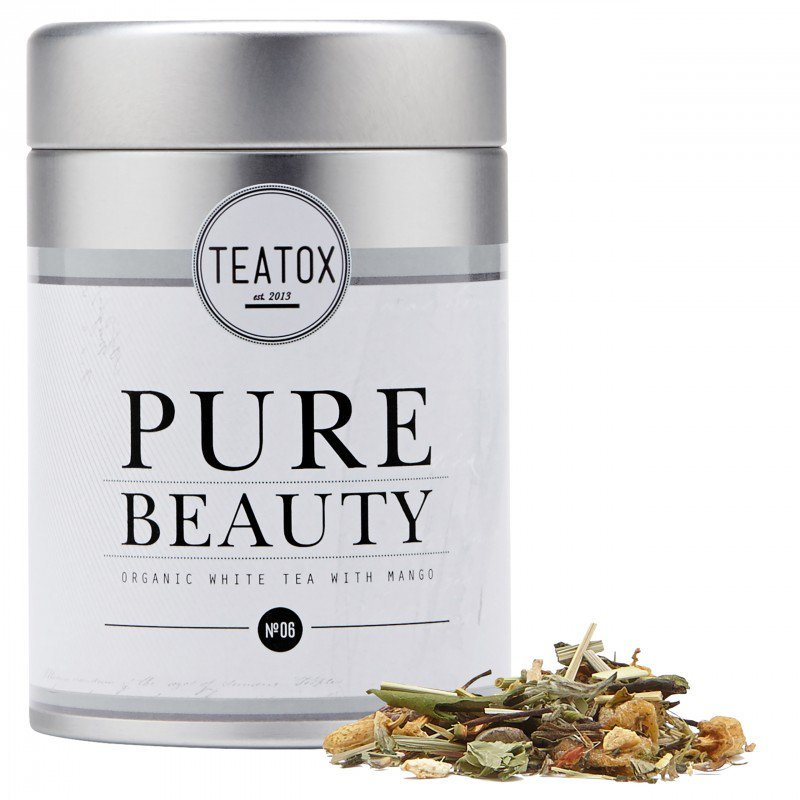 Teatox, Pure beauty, large, Organic white Tea with Mango